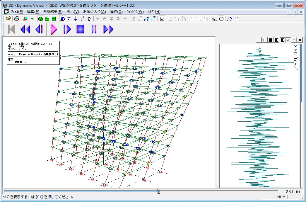 『3D・DynamicSS2』-振動アニメーション機能