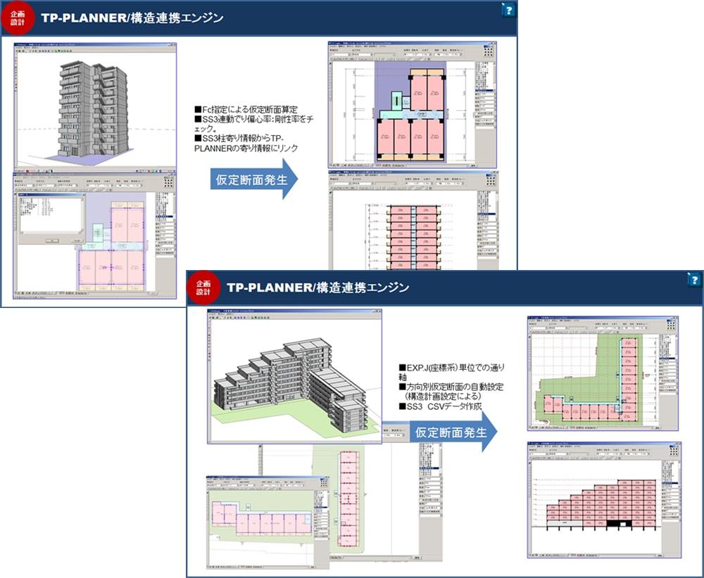 TP-PLANNER/構造連携エンジン