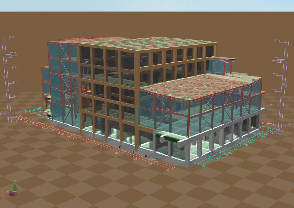 某ごみ処理場(3D図)