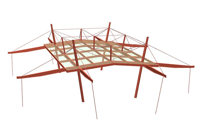 大屋根計画案1
